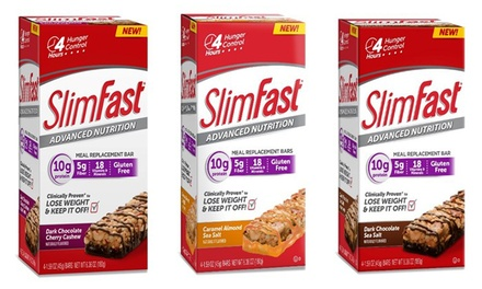 Slimfast Meal Replacement Or Snack Bars 3 Boxes Groupon