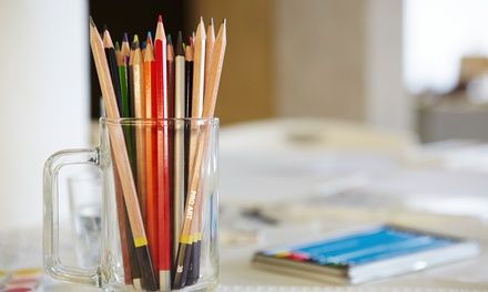 Entry to a Live Drawing Class for One, Two or Four People at Creative Drawings (Up to 61% Off)