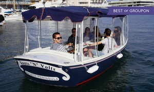 Newport Fun Tours: $69 for 90-Minute Electric-Boat Rental from Newport Fun Tours ($135 Value)