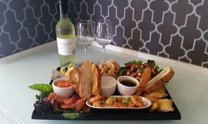 Pure Bar: $49 for a Seafood Platter with Bottle of Wine for Two People at Award-Winning Pure Bar, Subiaco ($100 Value)