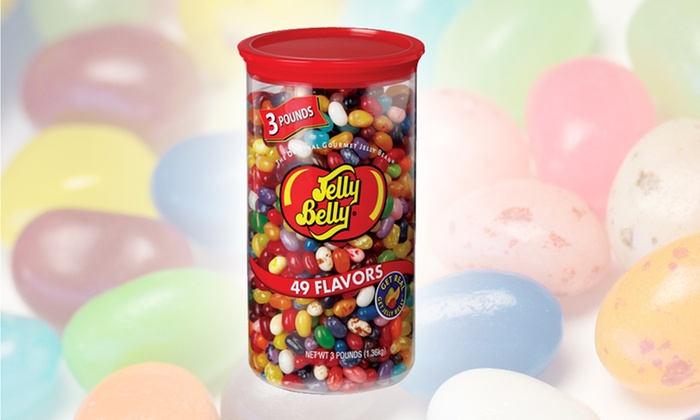Container of Jellybeans: $18.99 for a 3-Lb. Container of Assorted Jelly Belly Jellybeans ($26.99 List Price). Free Shipping.