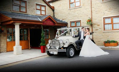 Wedding Package for 50 Daytime and 50 Evening Guests at The Red Hall Hotel (Up to 67% Off)