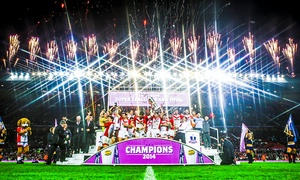 Super League Grand Final: Rugby Super League Grand Final at Old Trafford: Tickets from £10 (Up to 50% Off*)