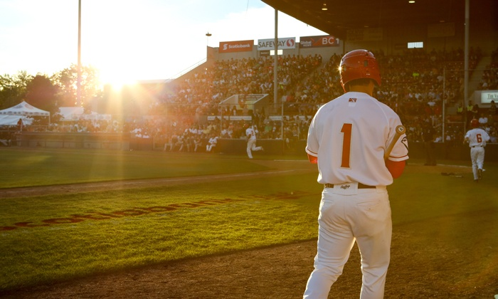 Vancouver Canadians - Scotiabank Field at Nat Bailey Stadium: $14 for a Vancouver Canadians Baseball Game for Two at Scotiabank Field at Nat Bailey Stadium ($31.50 Value)