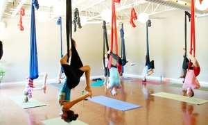 Be Yoga & Wellness: 5 or 10 Aerial Yoga Classes for Adults or Teens at Be Yoga & Wellness (Up to 81% Off)