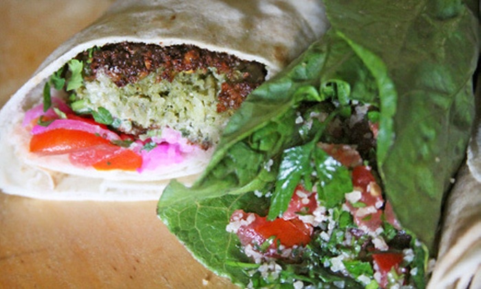 Gypsy Queen Cuisine - Downtown Asheville: $7 for $14 Worth of Lebanese Cuisine from Gypsy Queen Cuisine