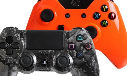 $45 for $100 Toward Custom PS4, Xbox One, PS3, and Xbox 360 Controllers from Controller Creator