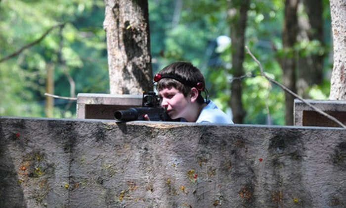Xtreme Kombat - Durham: 90-Minute Outdoor Laser Tag for 1, 4, 8, or 12 at Xtreme Kombat (Up to 53% Off)