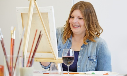 Three-Hour In-Studio Painting Lessons for Two or Four at Color to Canvas (44% Off)