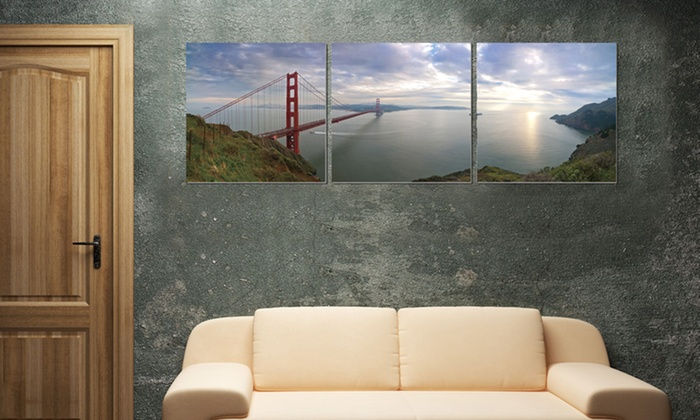 Elementem Wood-Mounted Triptychs: $99.99 for a Wood-Mounted Triptych ($220 List Price). Multiple Prints Available. Free Shipping and Returns.