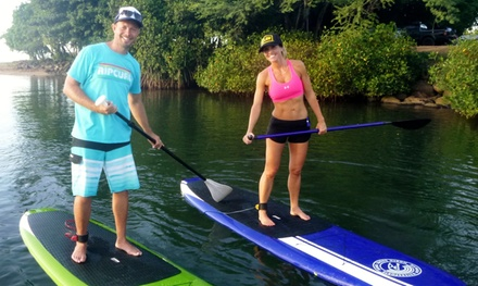 Standup Paddleboard Lesson for Two or Four from Rainbow Watersports (Up to 51% Off)