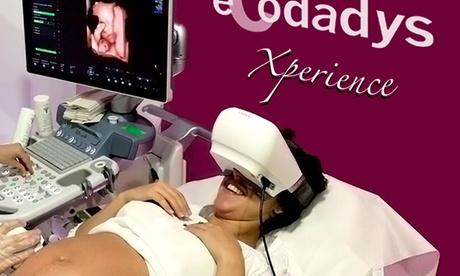 Ecografía 5D Xperience en TV con gafas VR con opción a impresión de la ecografía en 3D desde 59 € en Ecodadys Alcobendas