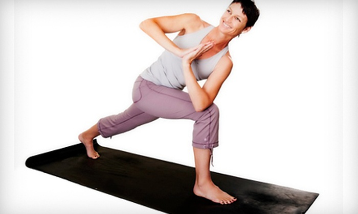 ONE Yoga - Hampden South: $75 for 10 Yoga Sessions at ONE Yoga ($150 Value)