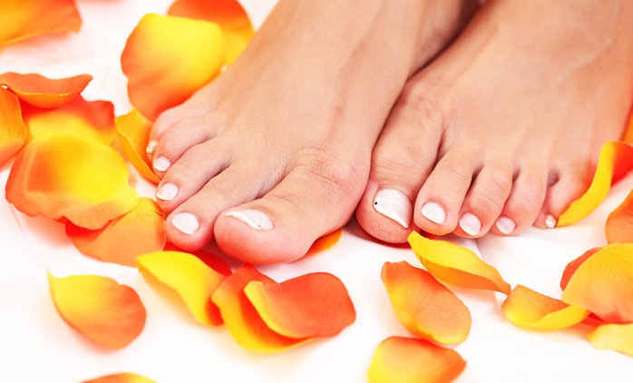 Intensive Pedicure With Shellac Polish for £22 at Beauty on the Spot