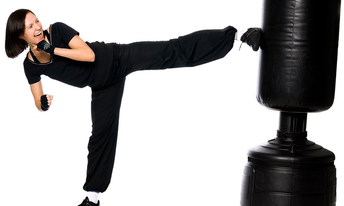 MMA Family Fitness Center - Flemington: One Month of Kickboxing Classes and Hand Wraps for One or Two at MMA Family Fitness Center (Up to 75% Off)