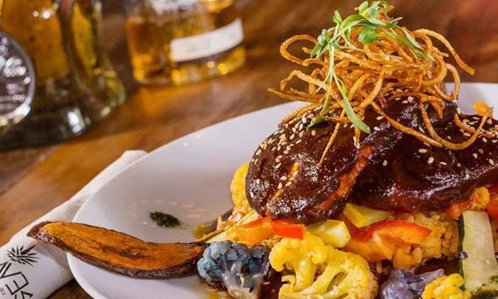 Agaves Kitchen & Tequila - Downtown Long Beach: Prix Fixe Mexican Meal for Two or Four with Margaritas and Dessert at Agaves Kitchen & Tequila (55% Off)