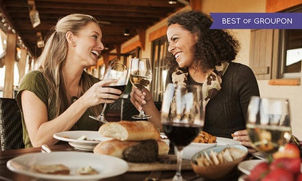 Wine Tasting and Lunch or Dinner for Two or Four at Chandler Hill Vineyards (Up to 48% Off)