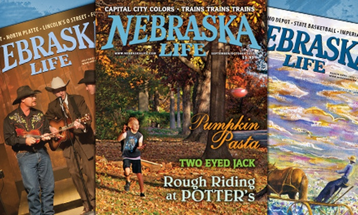 "Nebraska Life Magazine - Omaha: $10 for a One-Year Subscription to ""Nebraska Life"" Magazine ($21 Value)"