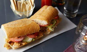 Analogue: Two or Three Groupons, Each Good for $15 Towards Gourmet Cajun Cuisine for Lunch at Analogue (47% Off)