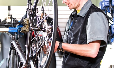 $35.99 for a Basic Bicycle Tune-Up at Trek Bicycle Store of North Charlotte ($75 Value)