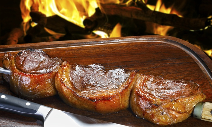 Karoca's Steakhouse - Lighthouse Point: Three-Course Rodizio Dinner for Two, Four, or Six at Karoca's Steakhouse (Up to 42% Off)