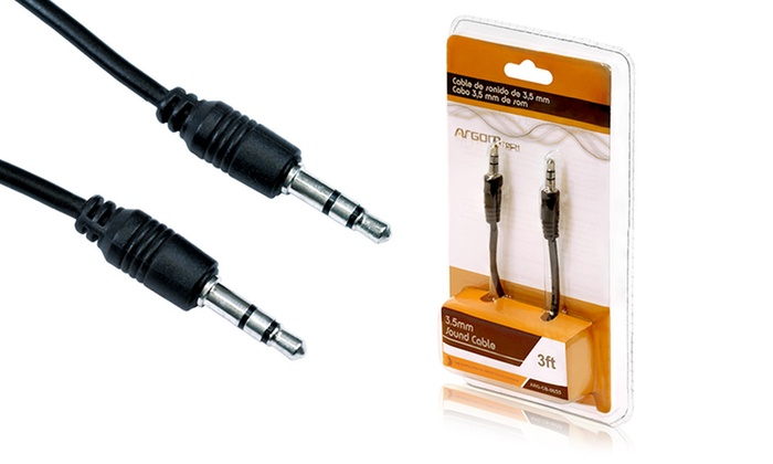 Argom 3' Auxiliary Cable: $2.99 for an Argom 3' Auxiliary Cable ($8 List Price). Free Returns.