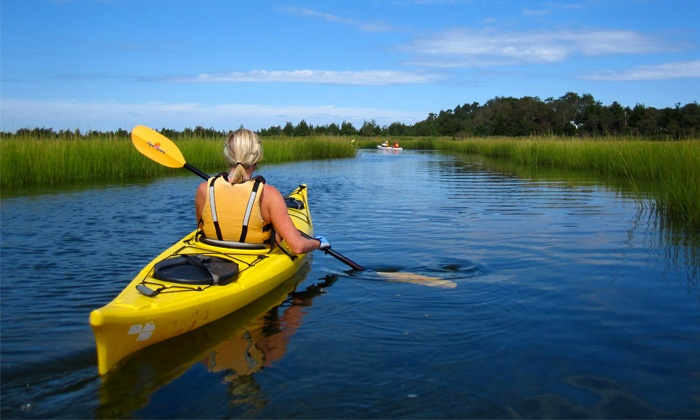 JK Kayak - Long Island: One-Hour Kayak Tour on Long Island for One or Two from JK Kayak (Up to 51% Off)