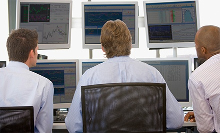 In-Person Workshop for One or Two or Online Stock-Trading Class for One from Acorn Wealth Corporation (Up to 96% Off)