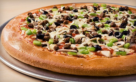 Two Medium Pizzas with Pasta or Two Extra-Large Pizzas with Sides at Freshslice Pizza (Up to 53% Off)