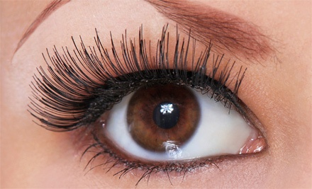 Set of Natural Look or Glamour Look Eyelash Extensions at Absolute Lash (Up to 60% Off)