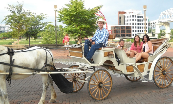 Sugar Creek Carriages - Nashville: $35for a Private Downtown Carriage Ride for Up to Six from Sugar Creek Carriages ($70Value)
