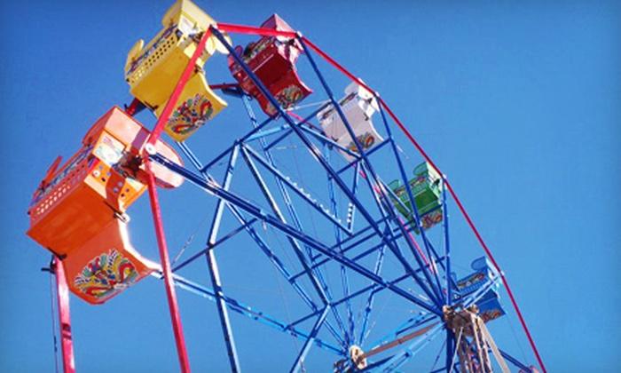 Balboa Fun Zone - Balboa Peninsula Point: $15 for 10 Ferris-Wheel Rides at Balboa Fun Zone ($30 Value)