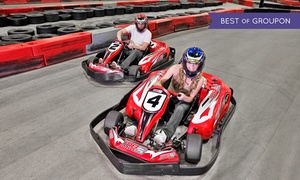 MB2 Raceway : One or Three Junior or Adult Go-Kart Races, or VIP Track Pass with Race Discounts at MB2 Raceway (Up to 50% Off)