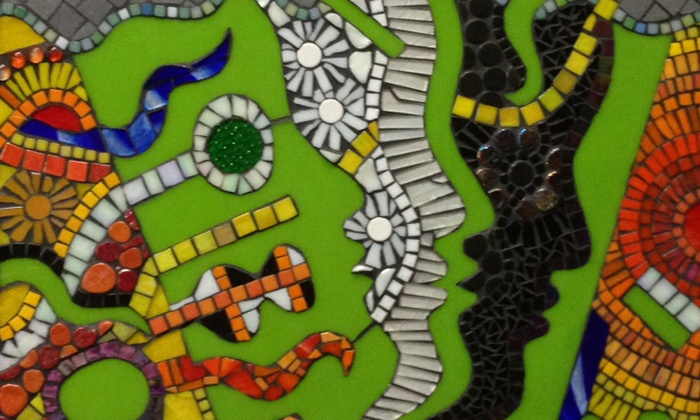 That Art Place: Home of Madcap Mosaics - Clifton Heights: Intro to Mosaics Workshop with Take-Home Mosaic for One or Two at That Art Place: Home of Madcap Mosaics (Up to 57% Off)