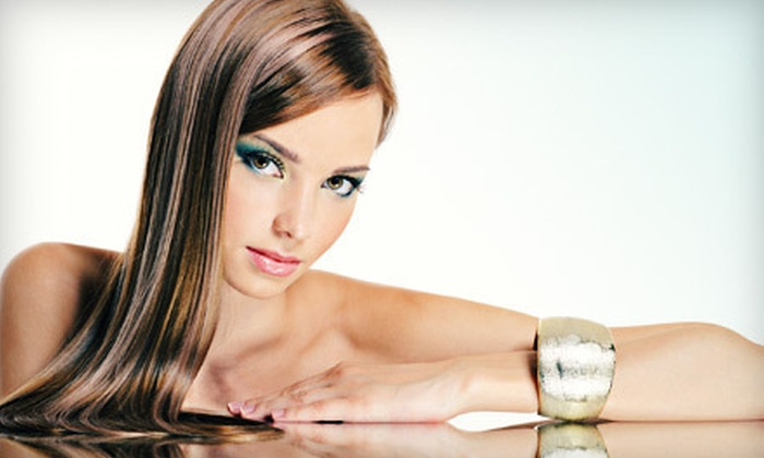 Jewels Beauty Bar - Chamblee-Doraville: Keratin Hair Treatment for One or Two People at Jewels Beauty Bar (Up to 85% Off)