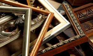 Moon Gallery Picture Framing: Framing Services at Moon Gallery Picture Framing (Up to 56% Off). Two Options Available.
