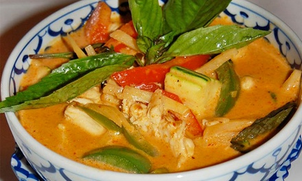 One or Three Groupons, Each Good for $30 Worth of Thai Cuisine and Drinks at Addie's Thai House (50% Off)