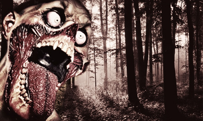 Vintage Paintball Park - River Falls: Interactive Zombie Halloween Hayride for Two, Four, or Six at Vintage Paintball Park (Half Off)