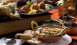 Pure Indian Cuisine: Food and Drink for Two or Credit Toward Delivery or Takeout at Pure Indian Cuisine (Up to 47% Off)
