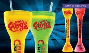 Señor Frog's: $35 for Two 28 Oz. Yard Drinks at Señor Frog's ($66 Value)
