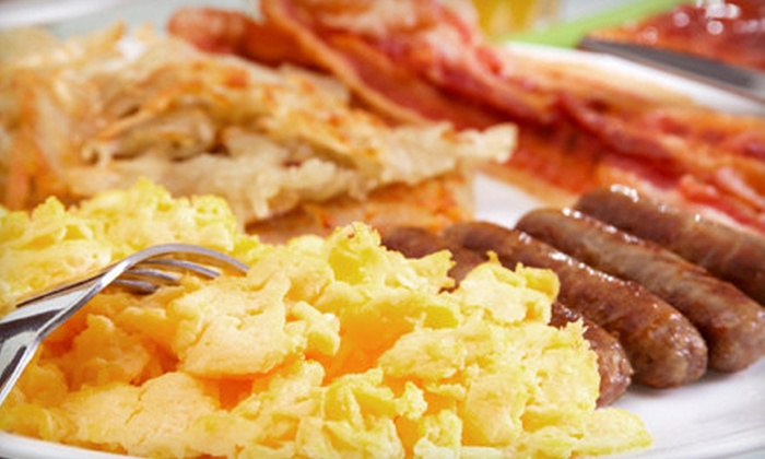 Shakabrah Java - Tacoma: Classic Breakfast Food and Drinks at Shakabrah Java (Up to 61% Off). Two Options Available.
