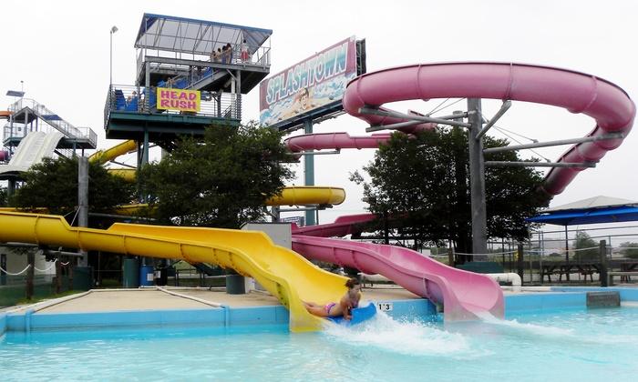 Splashtown San Antonio - AT&T Parkway: General Water-Park Admission for One, Two, or Four at Splashtown San Antonio (Up to 34% Off)