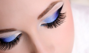 The Dollhouse: Semi-Permanent Lashes with Optional Brow Shape or Tint at The Dollhouse