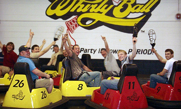 Whirlyball Novi - Novi: $155 for a Whirlyball Outing for Up to 15 People with Pizza, Choice of Salad or Chips, and Soda ($364 Value)