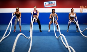 Fit Body Boot Camp: 10 or 20 Boot-Camp Sessions at Fit Body Boot Camp (75% Off)