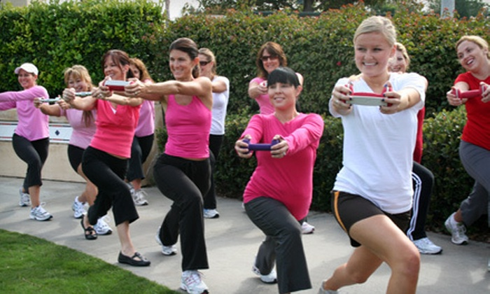 Code Pink Boot Camp - Multiple Locations: $49 for Month of Boot-Camp Classes at Code Pink Boot Camp ($179 Value)