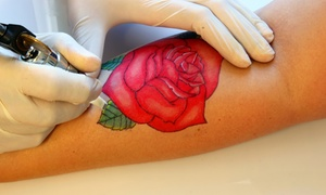 One way tattoo: 19,90 €  por un descuento de 110 € para un tatuaje negro o a color en One Way Tattoo