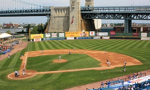 Camden Riversharks Game For Two, Four, Or Six With Food And Merchandise Credit At Campbell's Field (up To 44% Off)
