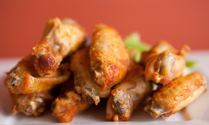 Finger Lickin Chicken Wing Fling Thing For Two Or Four On April 13 At Noon (50% Off)