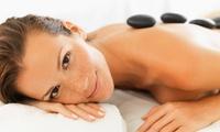 1h de modelage aux pierres chaudes (soin relaxant), option 30 minutes de sauna en duo dès 69 € chez Les Soins ô Naturels